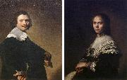 Portrait of a Man and Portrait of a Woman  wer VERSPRONCK, Jan Cornelisz