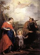Holy Family and Trinity WIT, Jacob de