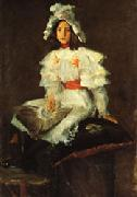 Girl in White William Merritt Chase