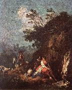 Landscape with a Rider ZUCCARELLI  Francesco