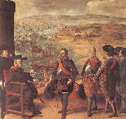 Defence of Cadiz against the English ZURBARAN  Francisco de