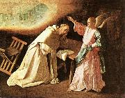 The Vision of St Peter of Nolasco ZURBARAN  Francisco de