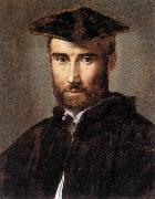 Portrait of a Man ag PARMIGIANINO