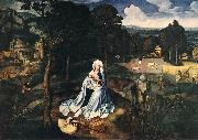 Rest during the Flight to Egypt af PATENIER, Joachim