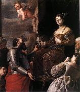 Sophonisba Receiving the Goblet af PRETI, Mattia