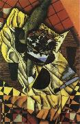 Grape and wine Juan Gris