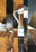 Beer cup and card Juan Gris