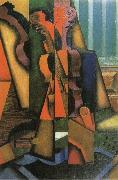 Fiddle and Guitar Juan Gris