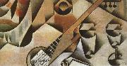 Banjor and cup Juan Gris