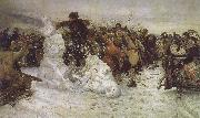 The Taking of the Snow Vasily Surikov
