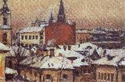 View of the Kremlin Vasily Surikov
