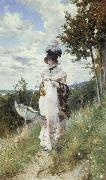 Afternoon Stroll Giovanni Boldini