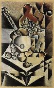 Flower and Guitar Juan Gris