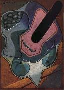 Fiddle and fruit dish Juan Gris