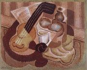 Single small round table Juan Gris