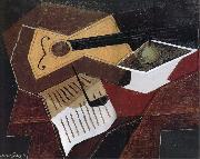 Guitar and fruit dish Juan Gris