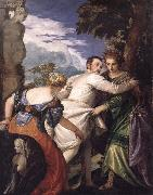 Allegory of Vice and Virtue Paolo Veronese
