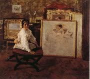 Do you speak with me William Merritt Chase