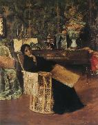 In the  Studio William Merritt Chase