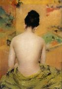 Back of body William Merritt Chase