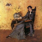Portrait of Dora Wheeler William Merritt Chase