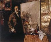 Self-Portrait William Merritt Chase