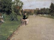 The view of park William Merritt Chase