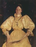 Golden noblewoman William Merritt Chase