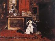 The Studio view William Merritt Chase
