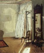 The Balcony Room Adolph von Menzel