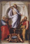 Christ with the Four Evangelists BARTOLOMEO, Fra