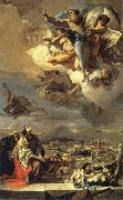 Hl. Thekla erlost Este of the plague Giambattista Tiepolo