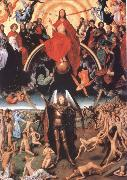Last Judgment Triptych Hans Memling