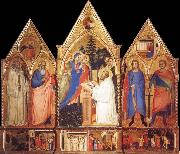 St.Bernard-s Vision of the Virgin with Saints Matteo Di Pacino