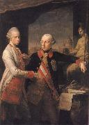 Emperor Foseph II and Grand Duke Pietro Leopoldo of Tusany Pompeo Batoni