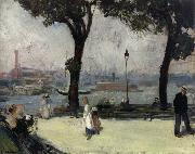 East River Park William J.Glackens