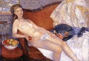 Girl with Apple William J.Glackens