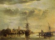 The Meuse by Dordrecht Aelbert Cuyp