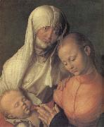 Anne with the virgin and the infant Christ Albrecht Durer