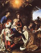The Adoration of the Kings Carlo  Dolci