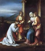 Christ Taking Leave of His Mother Correggio