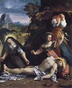 Lamentation over the Body of Christ Dosso Dossi