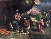 The Adoration of the Kings Dosso Dossi
