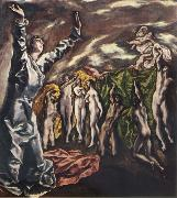 The Vision of St.John El Greco