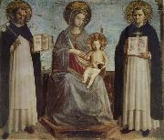 Madonna and Child with St Dominic and St Thomas of Aquinas Fra Beato