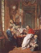 An Afternoon Meal Francois Boucher