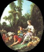 Are They Thinking About the Grape Francois Boucher