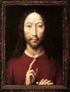 Christ Giving His Blessing Hans Memling