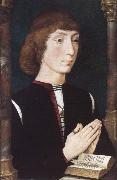 A Young Man at Prayer Hans Memling