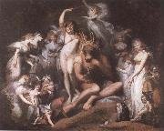 Titania and Bottom Henry Fuseli